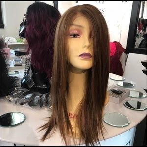 Copper brown Wig Swisslace Lacefront 2019 Style